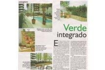 Jornal Diário Catarinense Verde Integrado em Terraços