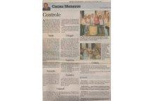 Jornal Diário Catarinense Paisagismo Feijoada do Cacau Menezes