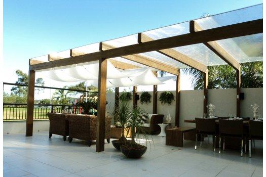 Terraço do Apartamento Decorado Visionnaire - Goldsztein Cyrela