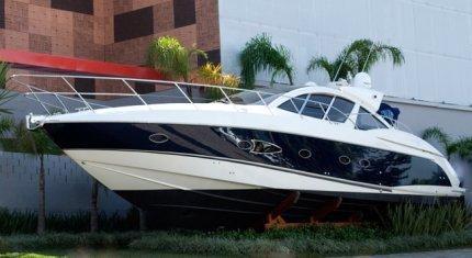 Varanda YachtBrasil - Um jardim para beira do mar.