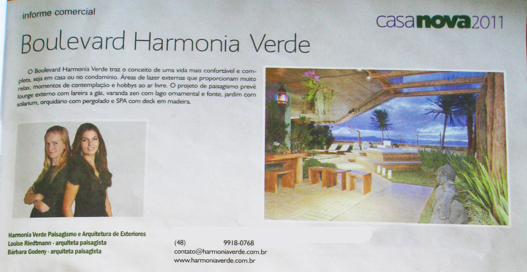 boulevard harmonia verde